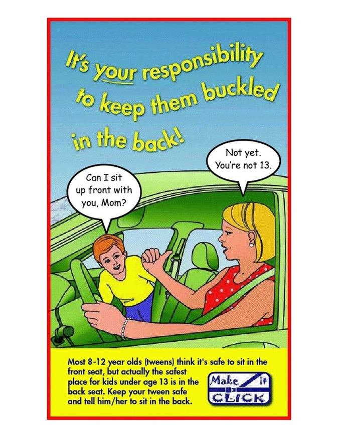 click on poster for interactive safety games